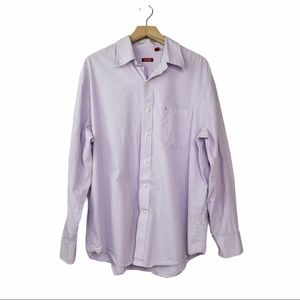 Izod Men's Gingham Button Down  VGC